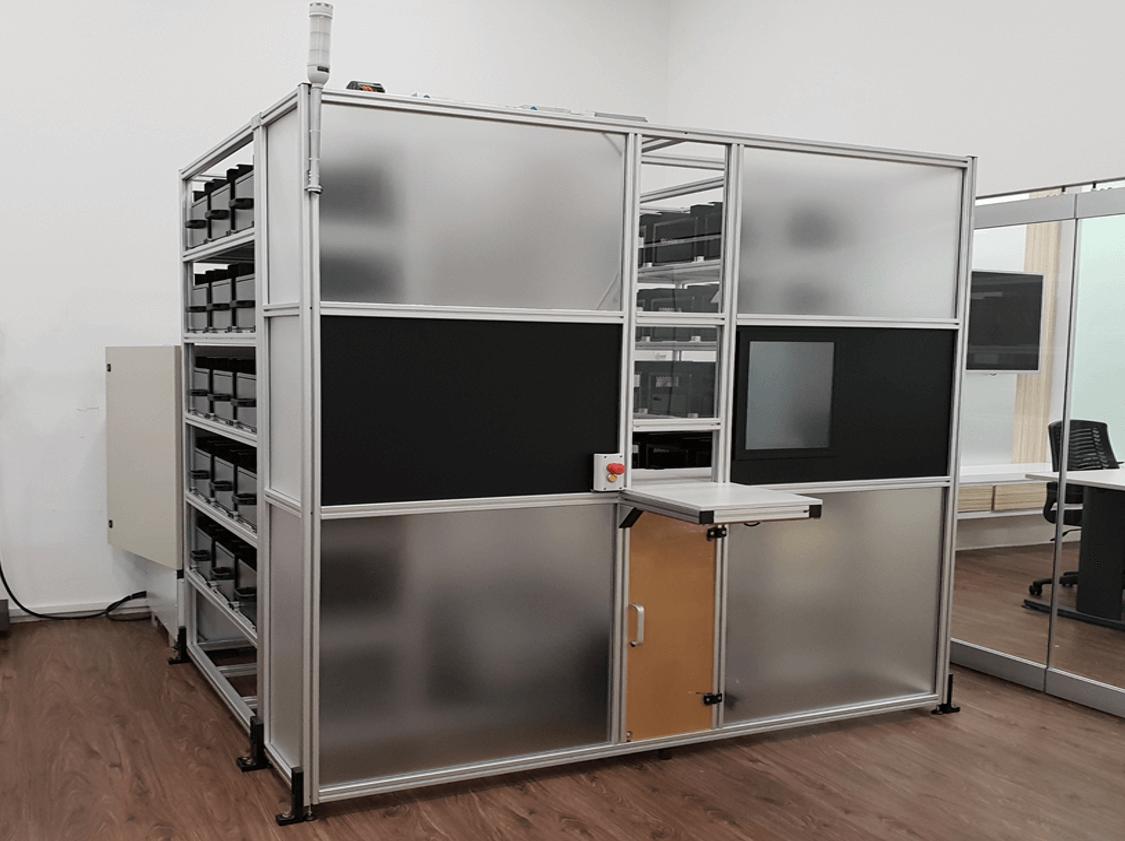 Automated Storage Retrieval System RFID Singapore